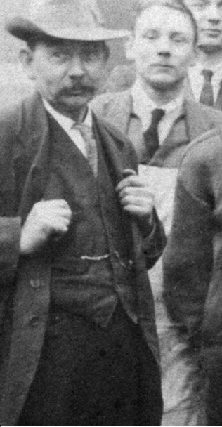 Leonard Lane on right in apron | Robert Lane