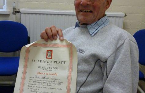 Lionel Longney remembers the Pattern-making Shop, 1945-1949