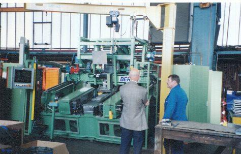 Henry Berry Radiator Core Machines, c.1995-1998