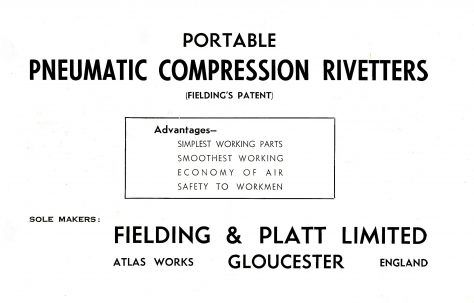 Portable Pneumatic Compression Rivetters