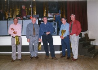 George, Roy Hollis,Roger Beard,Ron Yardley and David Jones.