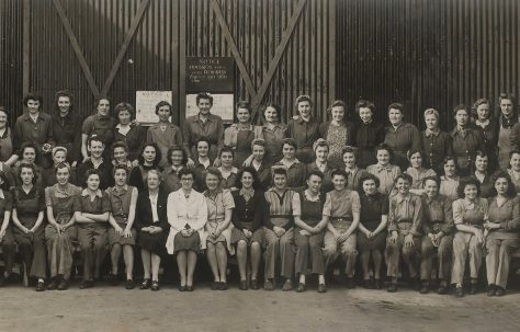 Fielding's female workers during World War II