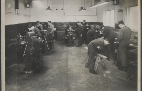 Photograph of the Craft Selection School