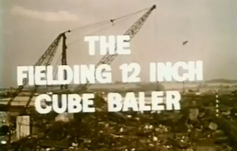 The Fielding 12 inch Cube Baler