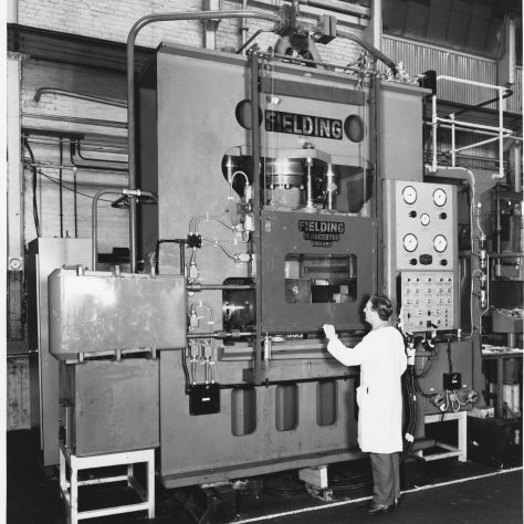 600 ton 'Fittings' Press Photo 7236 | Fielding & Platt c.1970
