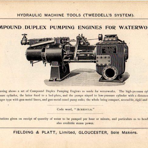 Hydraulic Machine Tools - Tweddell's System | Brochures