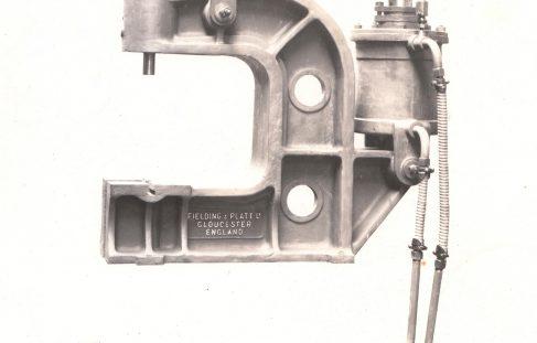 10 ton Pneumatic Forcing Press, O/No. 6866, c.1933