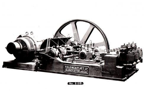 Three-Throw Hydraulic Pump, O/No. 7226, c.1934