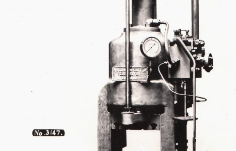 250 ton Stamping Press, O/No. 7296, c.1935