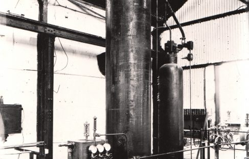 50 Gallon Air Hydraulic Accumulator, O/No. 6898, c.1933