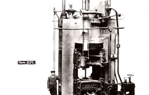 1500 ton Vertical Extrusion Press, O/No. 7319, c.1935
