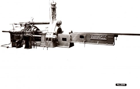 700 ton Horizontal Extrusion Press, O/No. 7523, c.1936