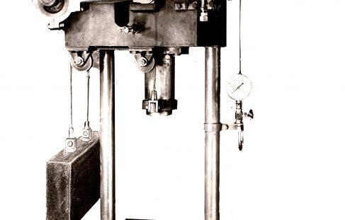 50 ton Bushing Press, O/No. 7781, c.1936