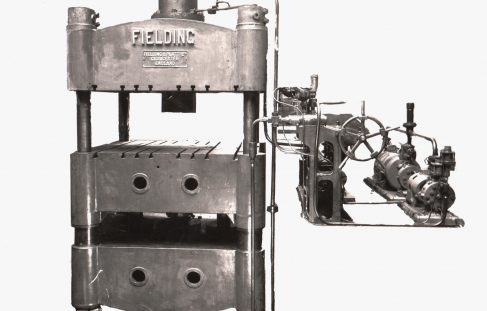 130 ton Flanging Press with Fraser Pumping equipment, O/No. 7651, c.1936