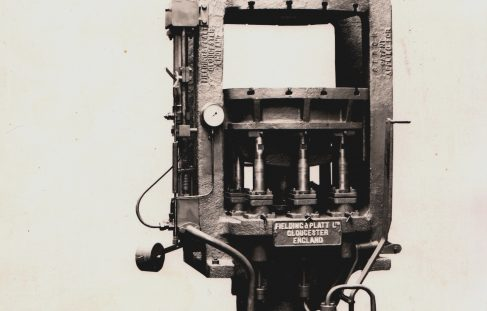 350 ton Radiator Press, O/No. 6878, c. 1933