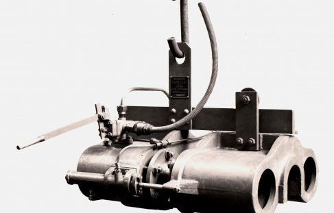 50 ton Forcing Press, O/No. 7057, c.1934