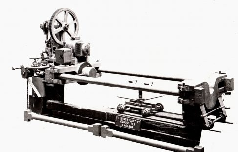 100 ton Wheel Press, O/No. 7163, c.1934