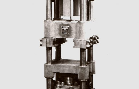 100 ton Pellet Press, O/No. 7465, c.1935