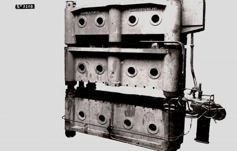 350 ton Blanking & Piercing Press, O/No. 7686, c.1936