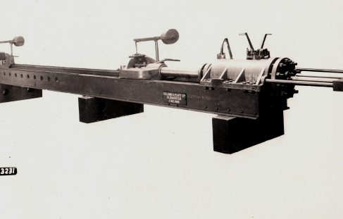 90 ton Stretching Machine, O/No. 7978, c.1937