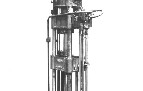 100 ton Shell Drawing Press, O/No. 8136, c.1937