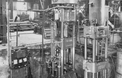 200 Ton Shell Drawing Presses, O/No. 8135, c.1937