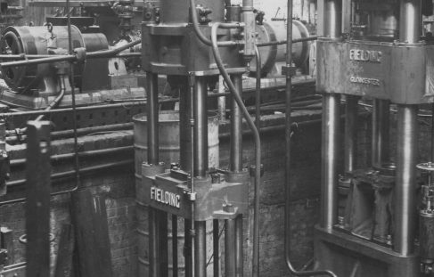 70 ton Cartridge Case Tapering Press, O/No. 8272, c.1938