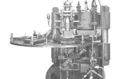 100 ton Six-Station Tile Press, O/No. 8306, c.1938