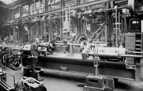 50 ton Horizontal Reducing Press, O/No. 8498, c.1939