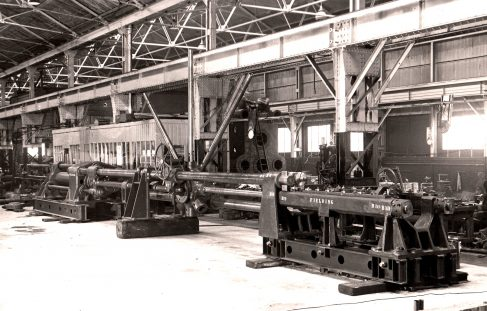 45 ton Horizontal Drawbench, O/No. 9261, c.1941