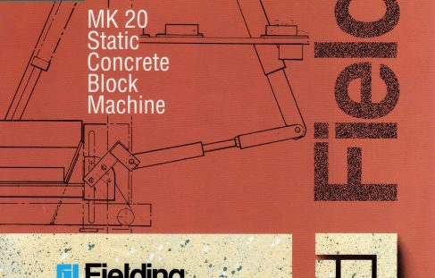 A series of leaflets of Semi-Dry Concrete Machines and equipment.