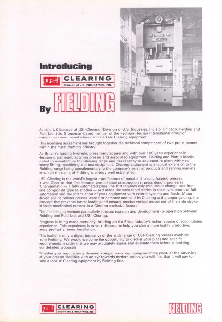 Fielding USI Clearing Page 2 | Supplied by John Bancroft