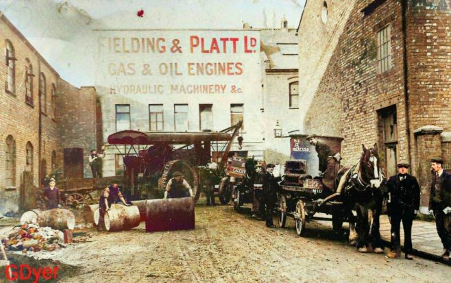 Fielding & Platt c.1910 | A colourised version, taken from