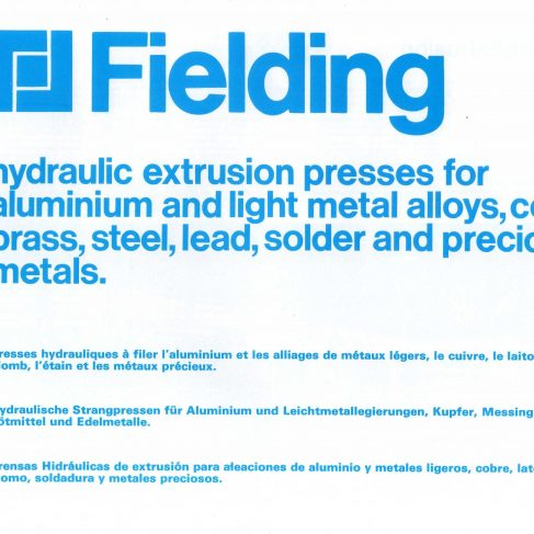 Fielding Extrusion Presses_01