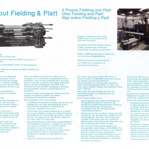 Fielding Extrusion Presses_03