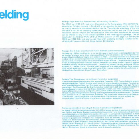 Fielding Extrusion Presses_06