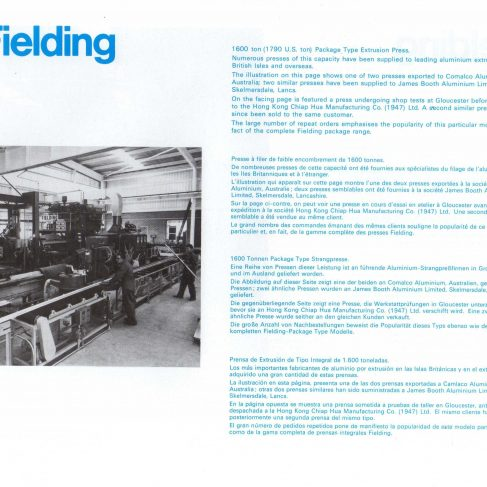 Fielding Extrusion Presses_09