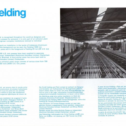 Fielding Extrusion Presses_10