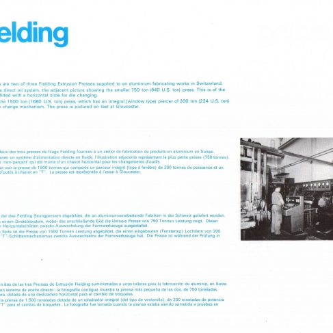 Fielding Extrusion Presses_12