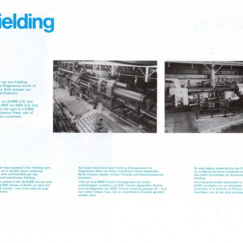 Fielding Extrusion Presses_17