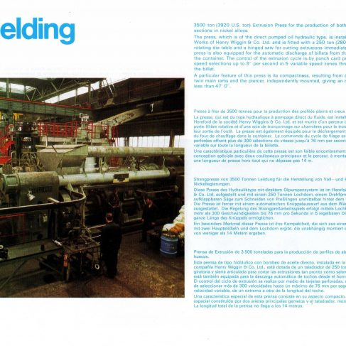 Fielding Extrusion Presses_19