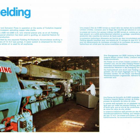 Fielding Extrusion Presses_20