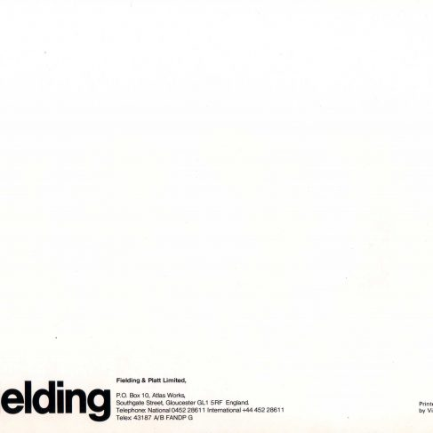 Fielding Hydraulic Presses_ Rear cover