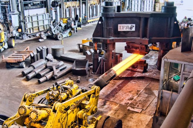 1500 ton Forging Press at IFA Precision Forge, Sheffield, Part 3