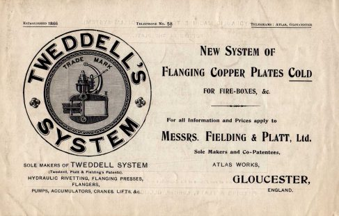 New System of Flanging Copper Plates Cold