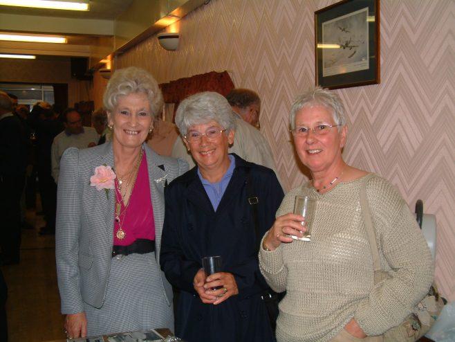 Photo 02.    Sylvia Beard;  Margaret Yardley;  Cynthia Beard.