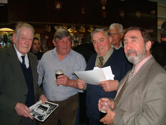 Photo 08.      Peter Preest ;  Richard Evans;  Derek Bennet  ;  Alan Castle.