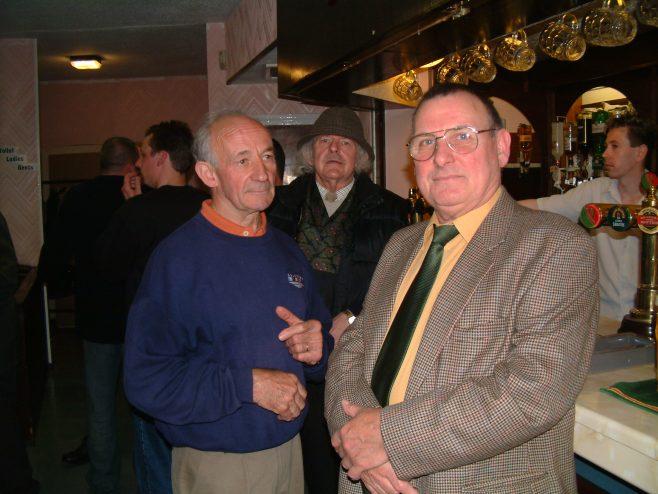 Photo 10.    John Little; ? ;  Norman Bidmead.
