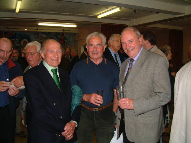Photo 14.    Lionel Lane; John Browning; Frank Bullock.