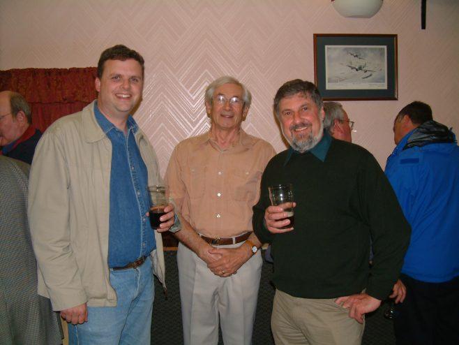Photo 17.    Tim Gamston;  Bev Minett-Smith; Keith Bradley.